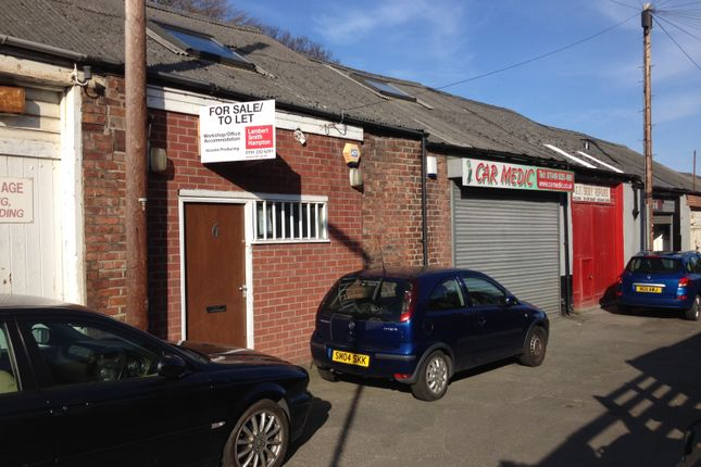 Thumbnail Industrial to let in Back Goldspink Lane, Newcastle Upon Tyne