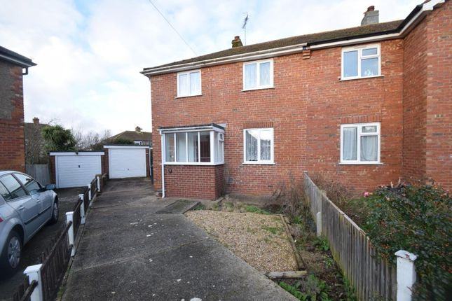 3 bed semi-detached house for sale in Court Road, Eastbourne BN22