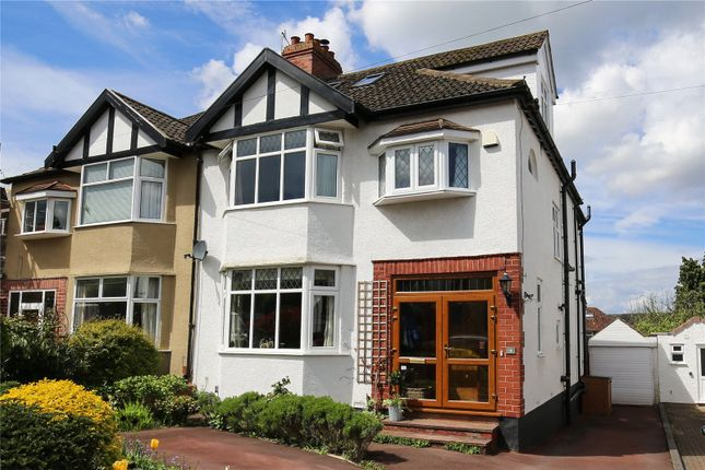Thumbnail Semi-detached house for sale in Downs Cote Avenue, Westbury On Trym, Bristol