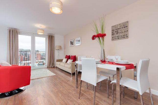 Living Area of Alto Building, Sillavan Way, Salford M3