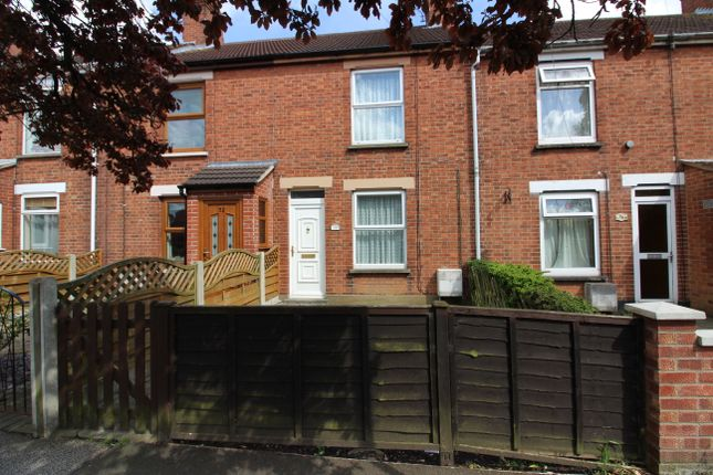 Thumbnail Terraced house to rent in Somerton Avenue, Lowestoft