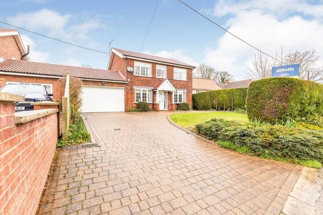 Link-detached house for sale in Weasenham, King's Lynn, Norfolk