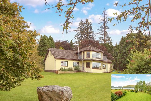 Thumbnail Detached house for sale in Druimarbin, Fort William, Inverness-Shire