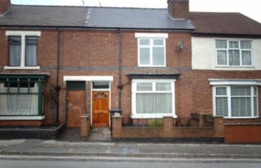 Thumbnail Terraced house to rent in Belvedere Road, Burton-On-Trent