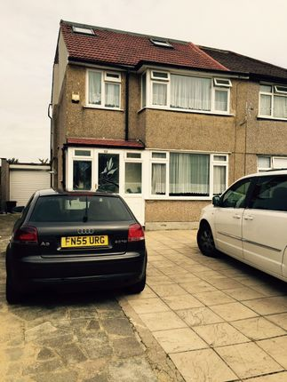 Thumbnail Semi-detached house to rent in Wentworth Crescent, Hayes