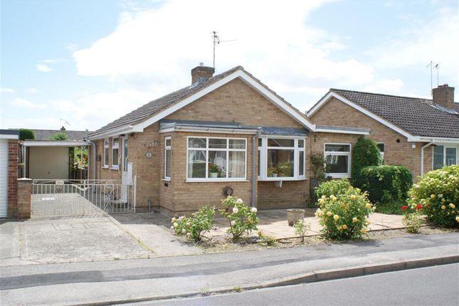 Thumbnail Detached bungalow for sale in Churchfield Drive, Wigginton, York