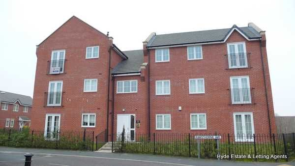 Thumbnail Flat to rent in Rawsthorne Avenue, Manchester