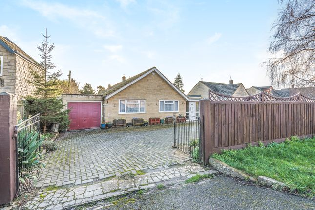 Detached bungalow for sale in Top Road, Kempsford, Fairford