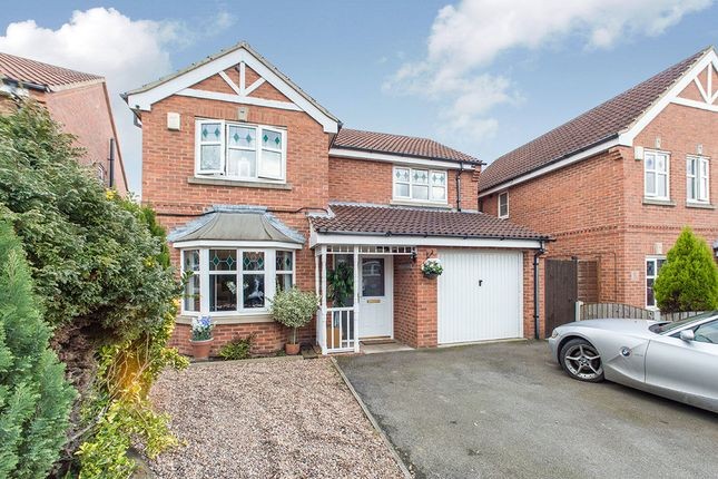 Thumbnail Detached house for sale in Keystone Avenue, Glasshoughton, Castleford