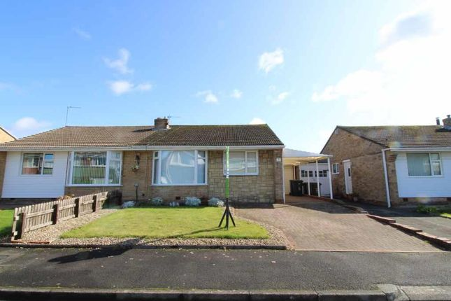 Thumbnail 2 bed semi-detached bungalow for sale in Casterton Grove, Chapel House, Newcastle Upon Tyne