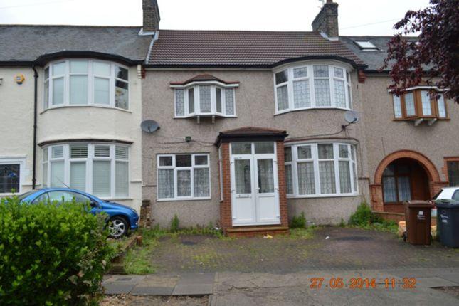 Thumbnail Terraced house to rent in Cranleigh Gardens, Barking
