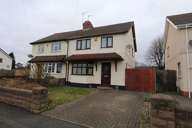 3 bed semi-detached house for sale in Evans Street, Willenhall, Wolverhampton, West Midlands