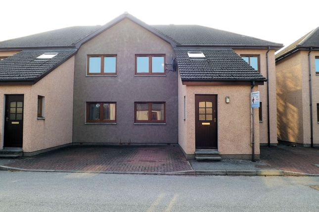 Front View of 8 Knockbreck Court, Tain IV19