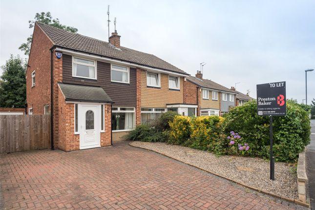 Thumbnail Semi-detached house to rent in Arthursdale Drive, Scholes, Leeds, West Yorkshire