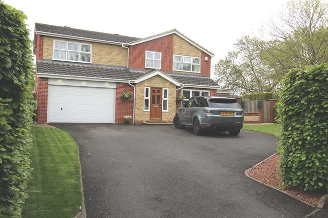 Thumbnail Detached house for sale in Roslin Way, Barns Park, Cramlington