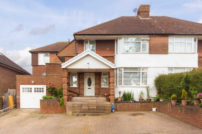 Thumbnail Semi-detached house for sale in Castle Hill Avenue, Berkhamsted