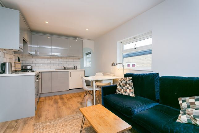 Thumbnail Flat to rent in Leverson Street, London