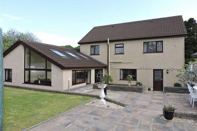 Thumbnail Detached house for sale in Golwg Y Mynydd, Craig-Cefn-Parc, Swansea