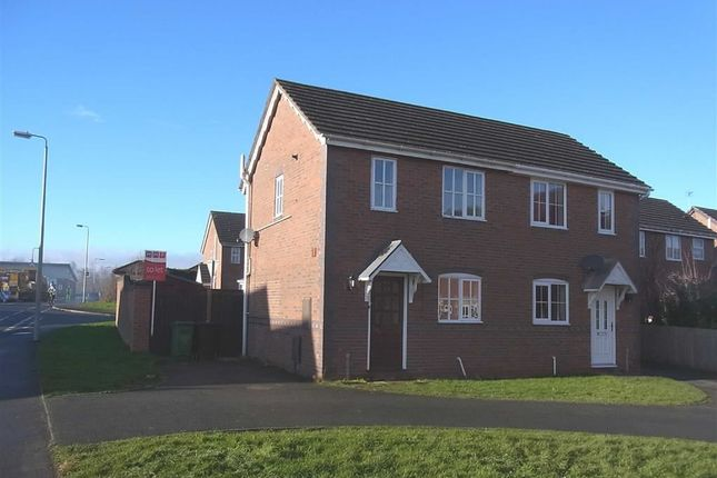 Thumbnail Semi-detached house to rent in 182, Cabin Lane, Oswestry, Shropshire