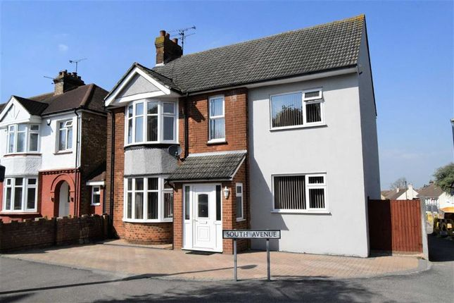 Thumbnail Detached house for sale in South Avenue, Gillingham