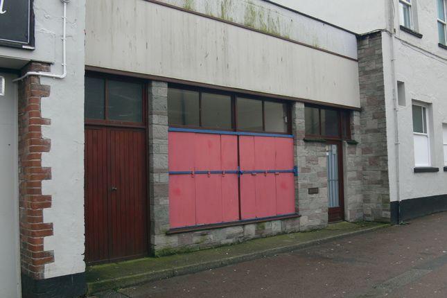 Thumbnail Retail premises for sale in Well Street, Barnstaple