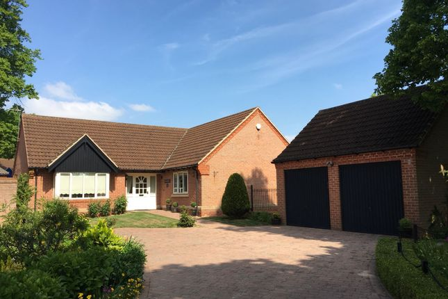 Thumbnail Detached bungalow for sale in Kings Gardens, Gonerby Hill Foot, Grantham