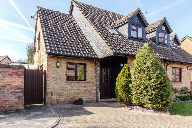 Thumbnail Semi-detached house for sale in Acorn Place, Langdon Hills, Essex