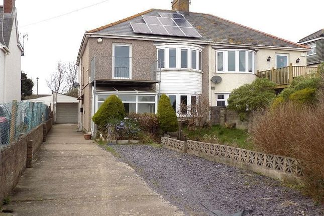 Thumbnail Semi-detached house for sale in 86 Holt House Beach Road, Newton, Porthcawl, Bridgend.