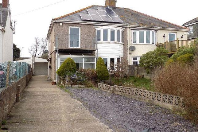 Thumbnail Semi-detached house for sale in 86 Holt House Beach Road, Newton, Porthcawl, Bridgend.