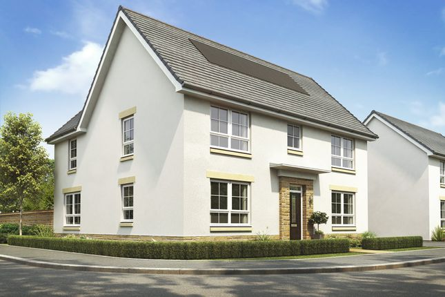 "Thumbnail Detached house for sale in ""Brechin"" at Malletsheugh Road, Newton Mearns, Glasgow"