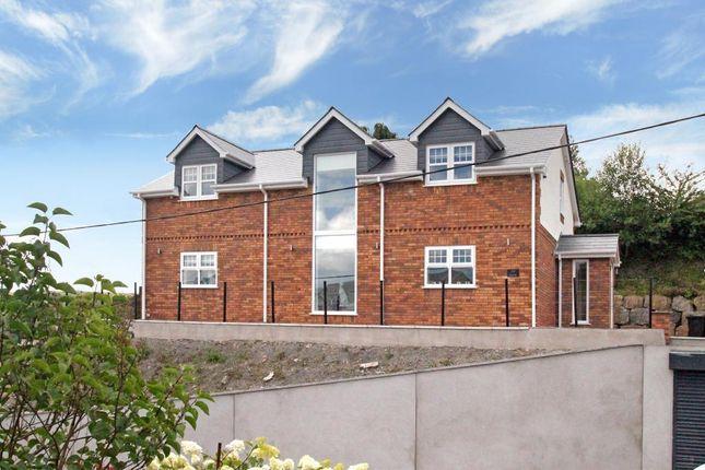 Thumbnail Detached house for sale in Scwrfa Road, Dukestown, Tredegar, Blaenau Gwent