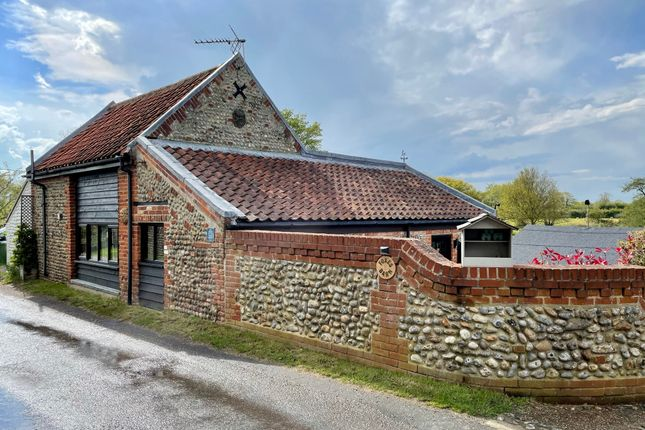 Thumbnail Equestrian property for sale in Stonebridge Road, Witton, North Walsham