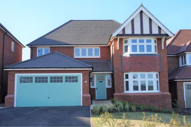 Thumbnail Detached house for sale in Audlem Road, Stafford