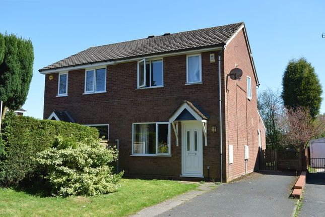 Thumbnail Semi-detached house for sale in Hawthorne Close, Ketley Bank, Telford, Shropshire.
