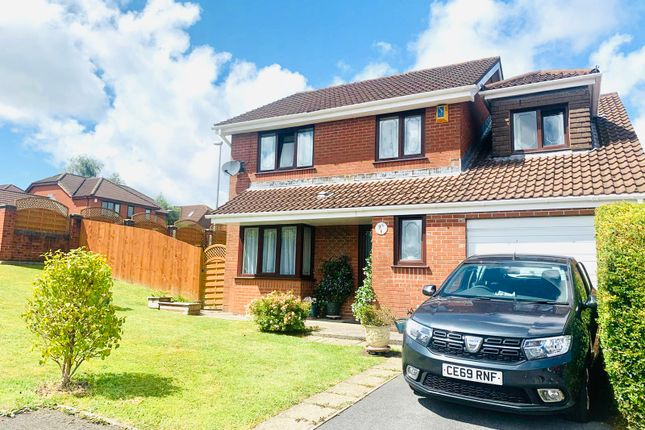 Thumbnail Detached house for sale in Heol Morlais, Llangennech