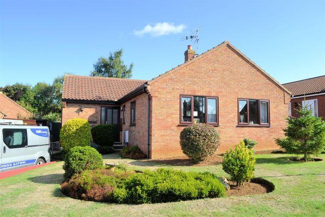 Thumbnail Detached bungalow for sale in Viceroy Close, Dersingham, King's Lynn