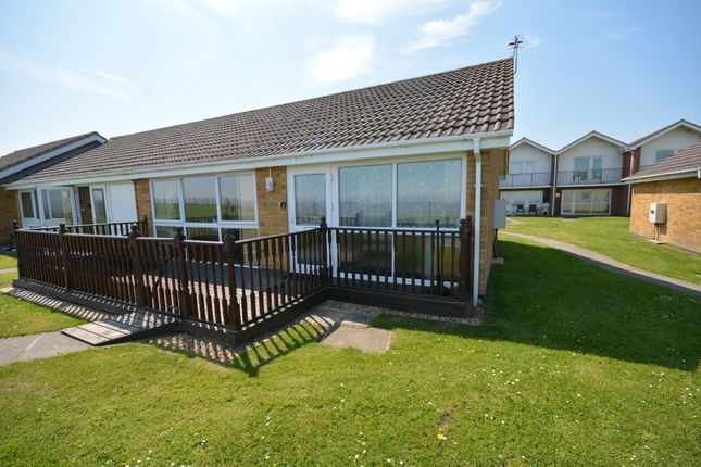 Thumbnail Detached bungalow to rent in Waterside Park, Corton, Suffolk