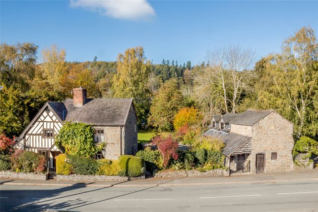 Thumbnail Detached house for sale in Guilsfield, Welshpool, Powys
