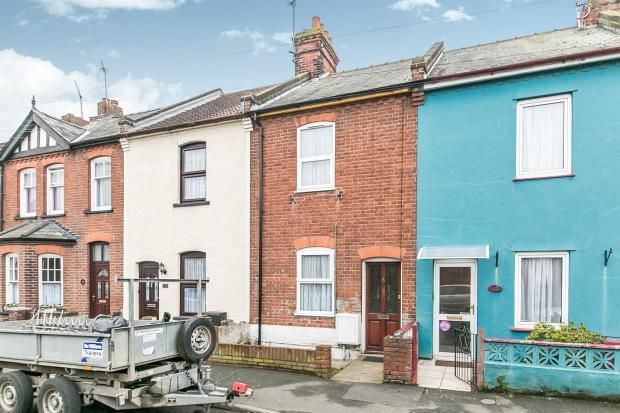 Thumbnail Terraced house to rent in Garland Road, Parkeston, Harwich