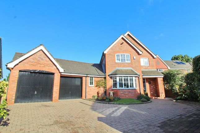 Thumbnail Detached house for sale in Hazelfields, Worsley, Manchester
