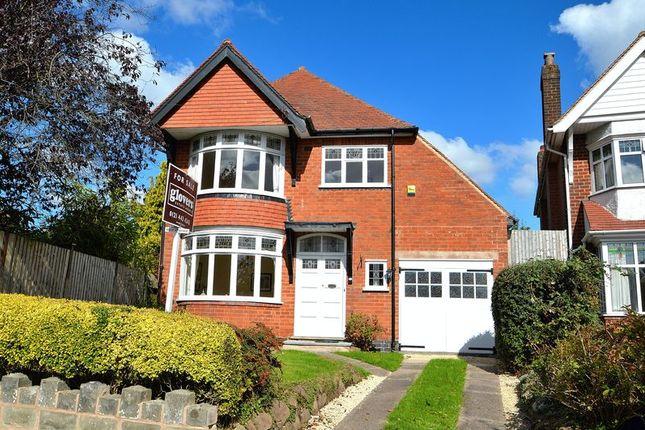 Thumbnail Detached house for sale in Portman Road, Kings Heath, Birmingham