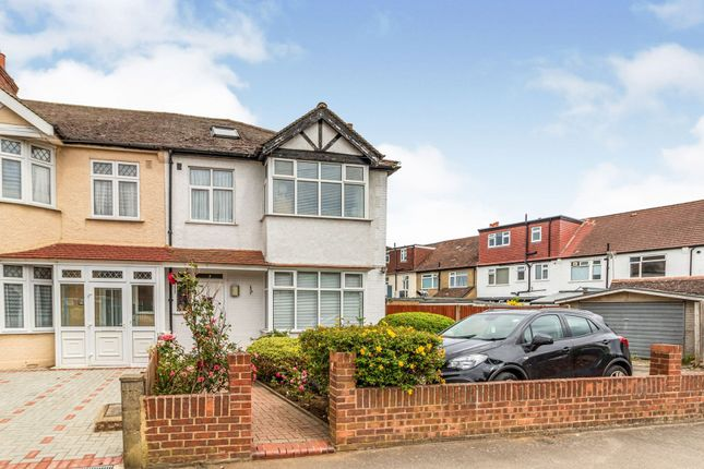 Thumbnail End terrace house for sale in The Chase, Wallington