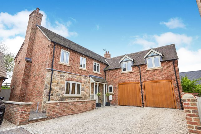 Thumbnail Detached house for sale in Pear Tree Mews, Breedon-On-The-Hill, Derby