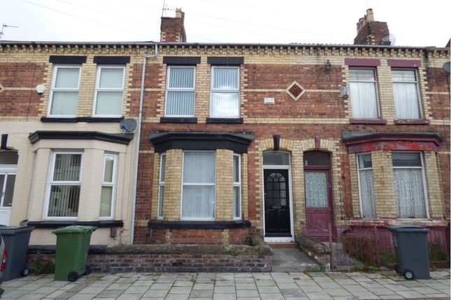 Thumbnail Terraced house to rent in Winstanley Road, New Ferry