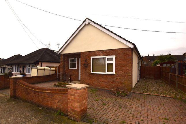 Thumbnail Detached bungalow for sale in Ramsay Drive, Vange, Basildon