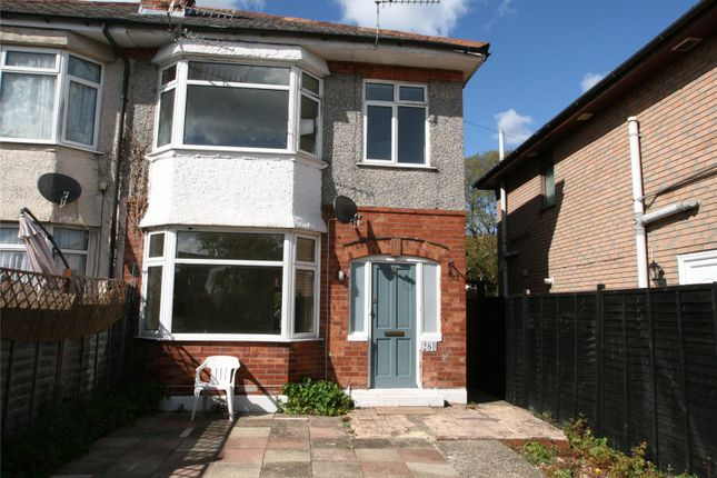 Semi-detached house for sale in Brassey Road, Winton, Bournemouth, Dorset