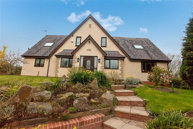 Thumbnail Detached house for sale in Vicarage Lane, Samlesbury, Preston