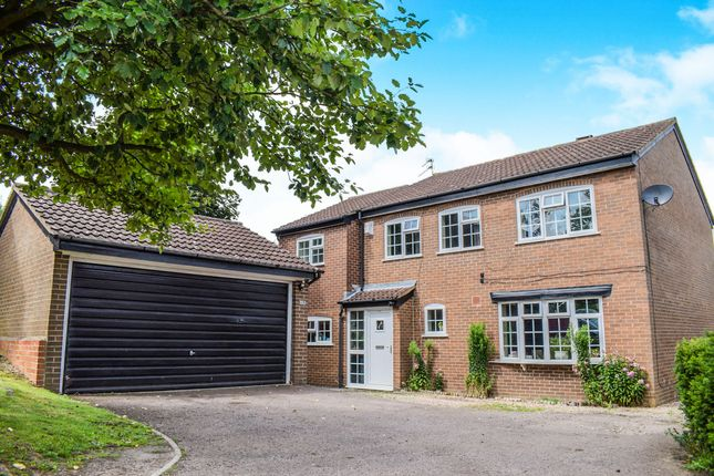 Thumbnail Detached house for sale in Stevenstone Close, Oadby, Leicester