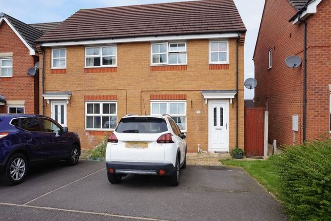 Thumbnail Semi-detached house for sale in Onsetter Road, Berryhill, Stoke-On-Trent