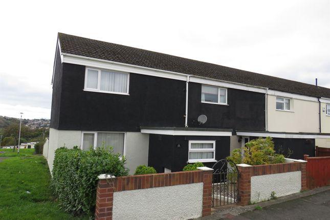 Thumbnail End terrace house for sale in Bideford Walk, Leigham, Plymouth